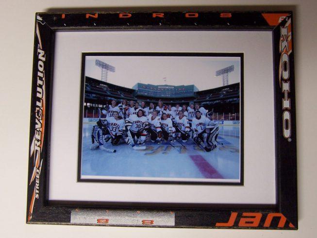 Hockey Stick Frame 2
