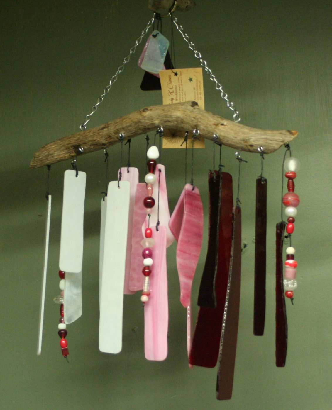 Pink Wind Chimes